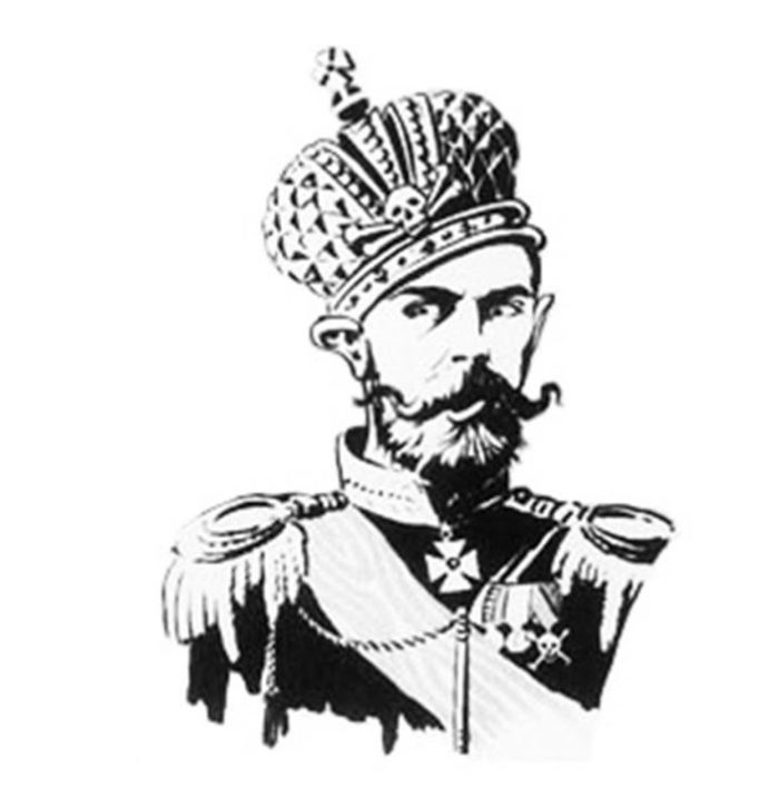 Образ Николая II в политической карикатуре Габриэля Галантара