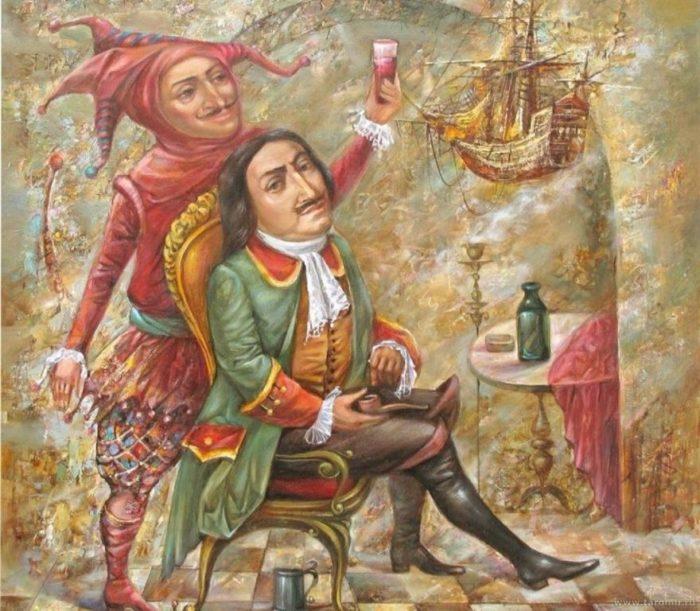 Трансформация смеховой культуры средневековья в петровскую эпоху